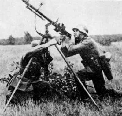 MG34 in AA service with Patronentrommel 34